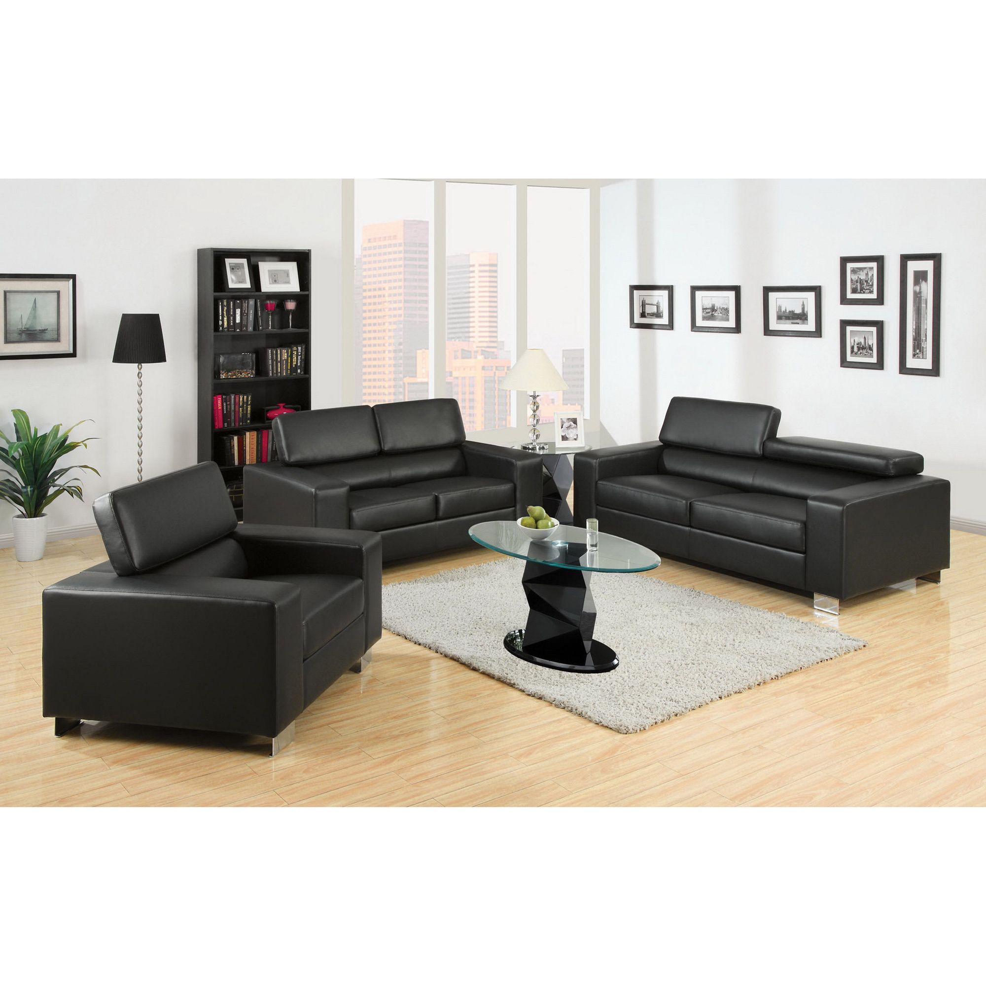 modern set sofa beige chrome foot sets leather hair black design couch and creamy box ideas plus carpet