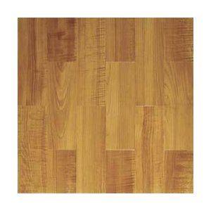 Home Dynamix Paramount 16'' x 16'' Vinyl Woodtone Traditional Tiles (Set of 6)