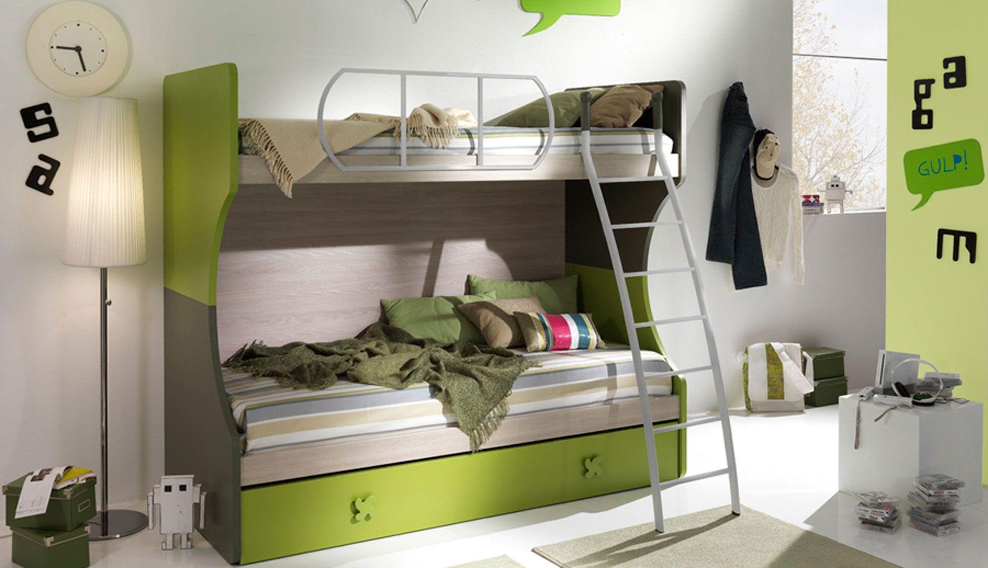 Camerette Ros ~ Cameretta a ponte rachele furnishing bedroom camerette design