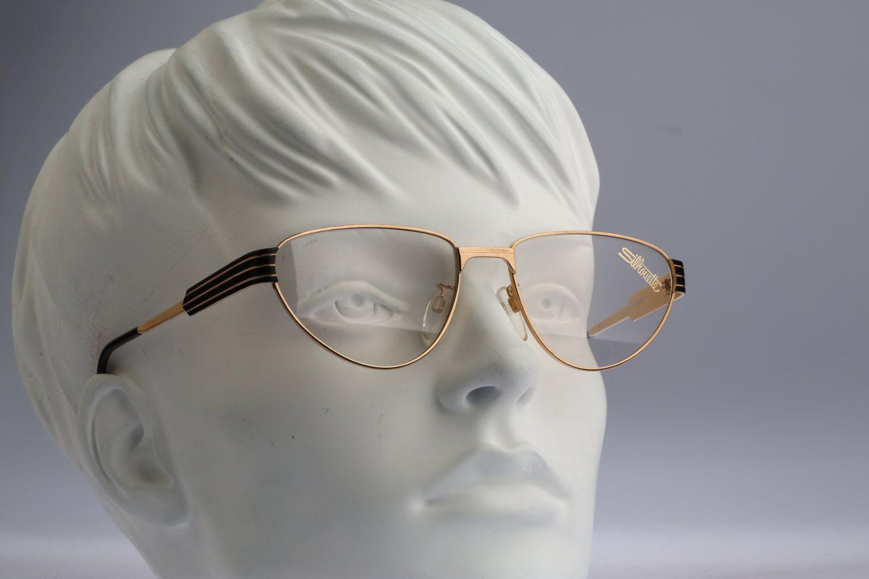 Silhouette M 6135 / Vintage eyeglasses / 80\'s NOS / Lightweight frame