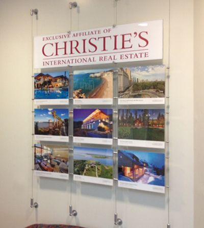 Custom Real Estate Window and Wall Display Kits. | real estate ...