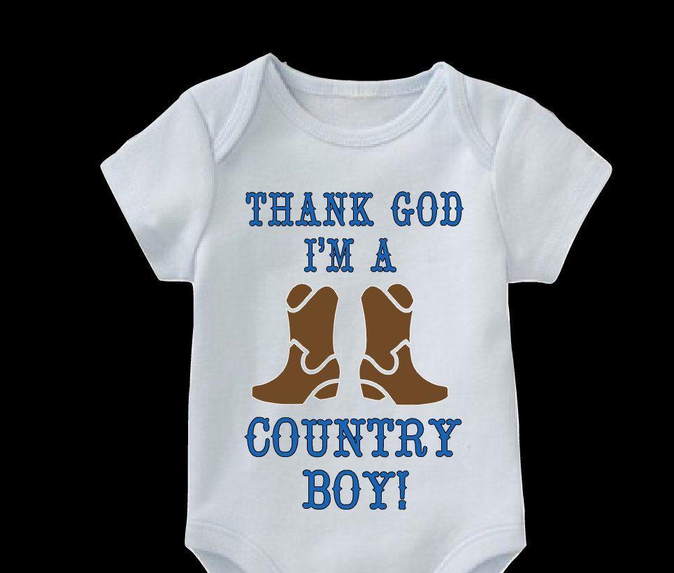 Thank god im a country boy onesie country boy onesie baby boy thank god im a country boy onesie country boy onesie baby boy negle Images