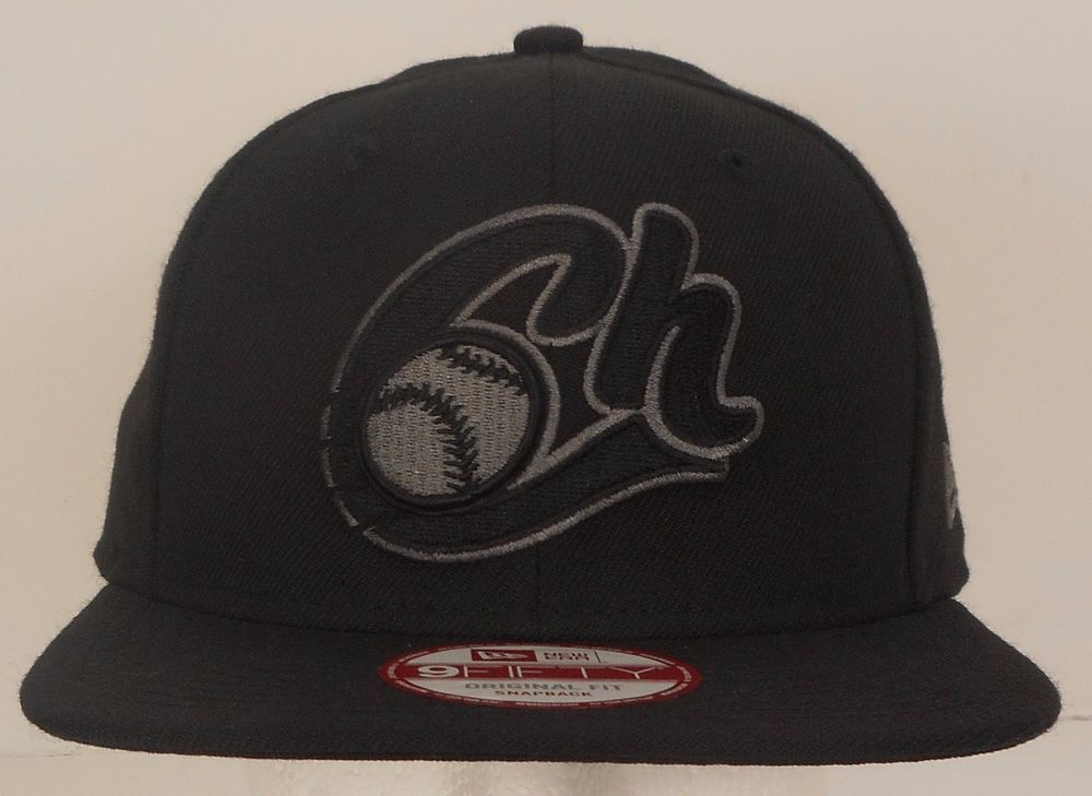 Charros De Jalisco Fitted New Era 59Fifty Mexican League Charcoal Black Hat Cap