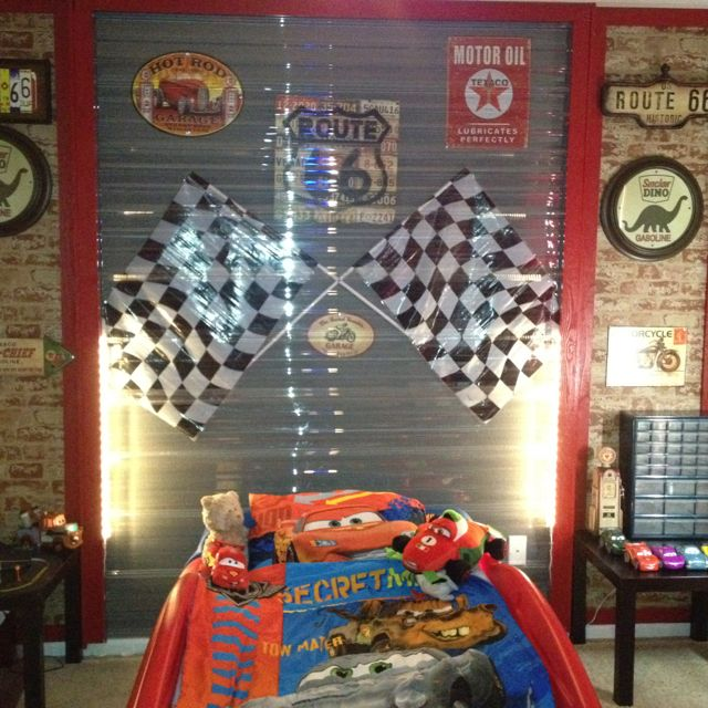 Cars bedroom this is what my big boys room needs to look like