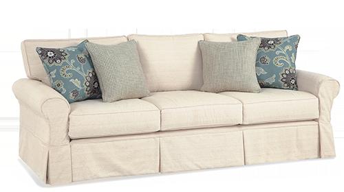 Good Favorite Style Shoreline Slipcovered Furniture, Camden Grande Long  Slipcovered Sofa, Three Seats, Box Back Cushions, Corman Natural With  Ankara Pond U0026 Grid ... Pictures Gallery