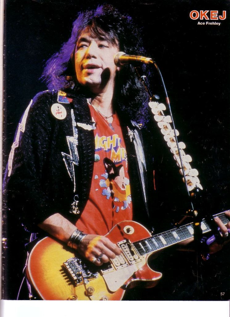 Pin By Lee Thomson On Ace Frehley 1983 1995 Ace Frehley Ace