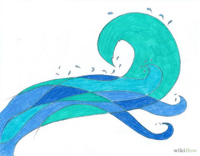 How to draw ocean waves 14 steps wikihow drawing tutorials how to draw ocean waves 14 steps wikihow ccuart Gallery