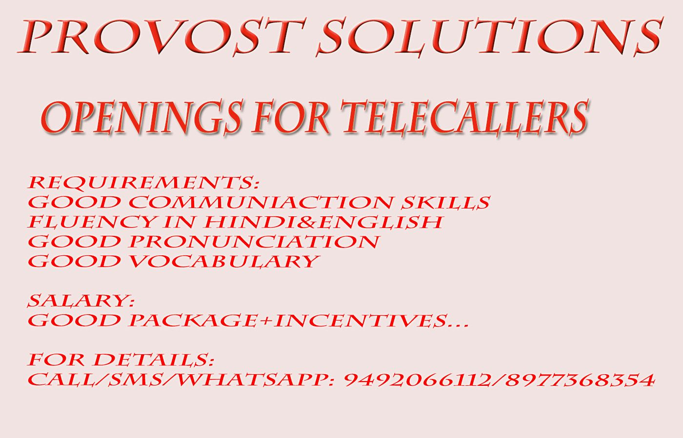 Telecaller Jobs In Hyderabad Bpo Telecalling Jobs Hyderabad Telugu