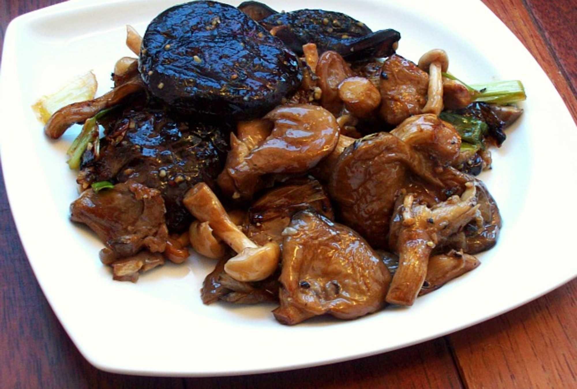 Roasted Wild Mushrooms Recipe Stuffed mushrooms