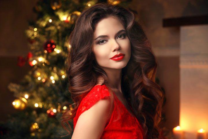 Miradas ganadoras con peinados para nochebuena Fotos de las tendencias de color de pelo - Los tres mejores peinados para nochebuena   Ideas de ...