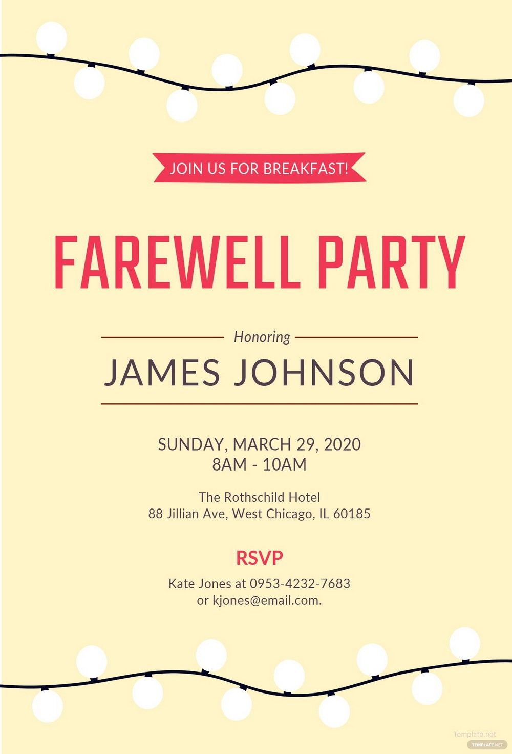 007 Template Ideas Farewell Party Invitation Free Word Throughout Farewell Card Tem Farewell Party Invitations Party Invite Template Dinner Invitation Template