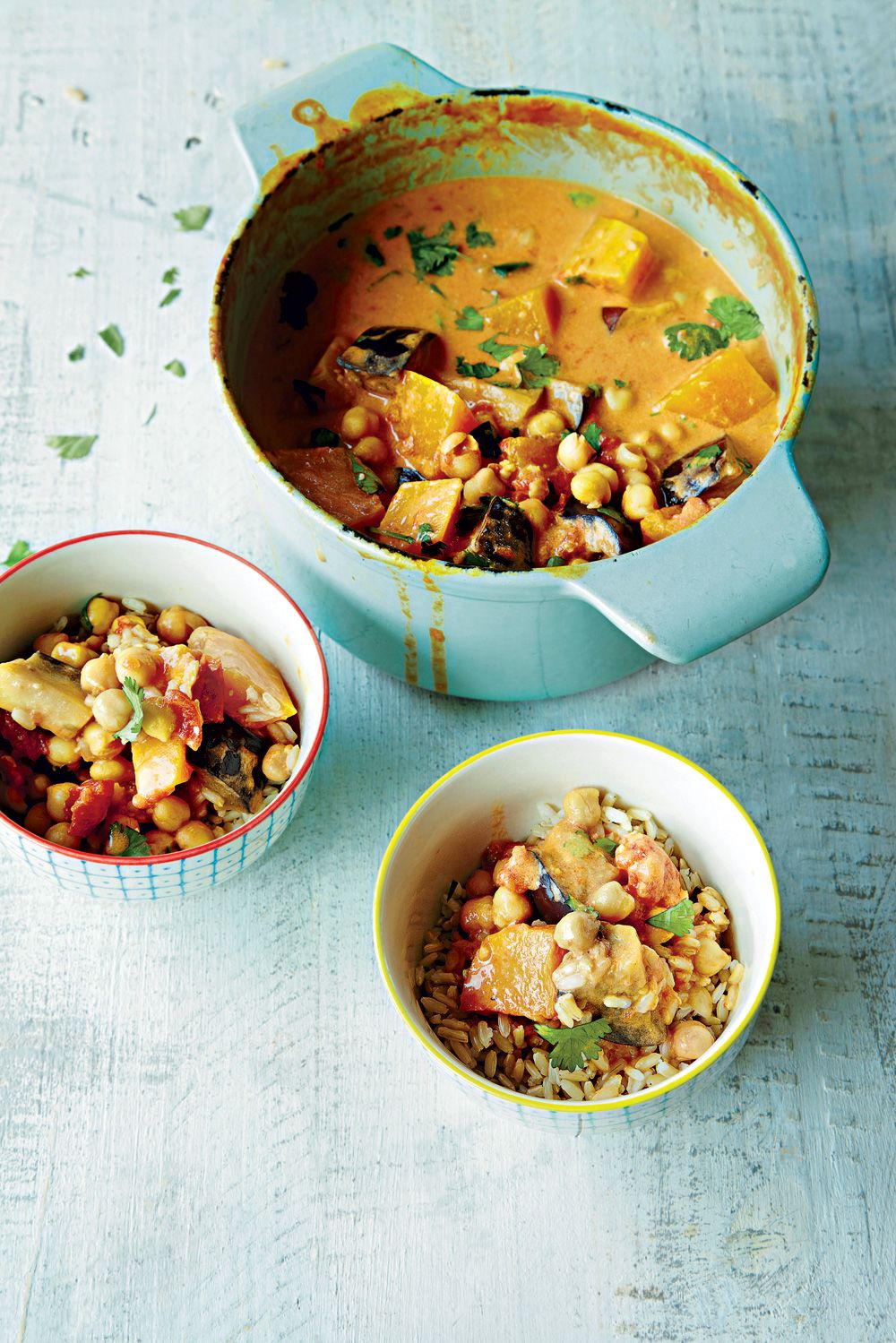 Thai Coconut Curry With Chickpeas   Women's Health   Curry recipes ...