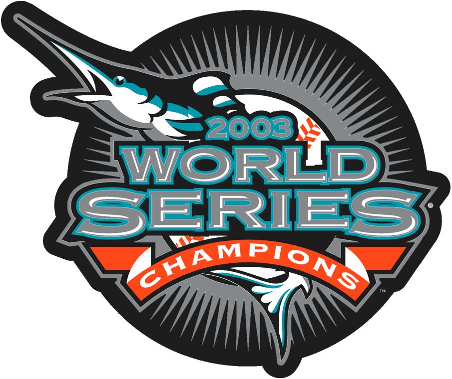 Florida Marlins Champion Logo Champion Logo Mlb Team Logos Marlins