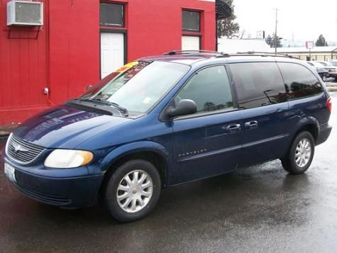 2001 Chrysler Town Country Lx Passenger Minivan 2990 With