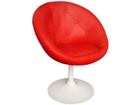 Fauteuil Ub Design Newport Rouge Et Blanc Chaise Design Pas Cher Chaise Design Decoration Salon