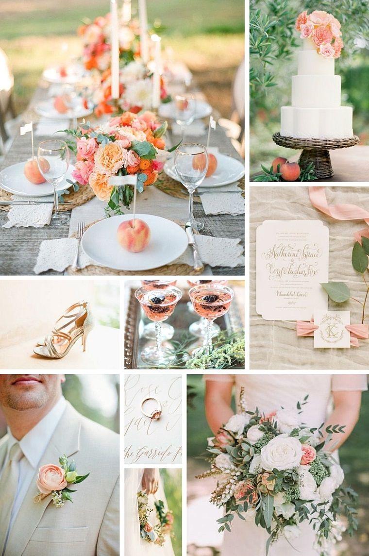 Decoraci n bodas vintage modernas y los colores de moda for Lo nuevo en decoracion