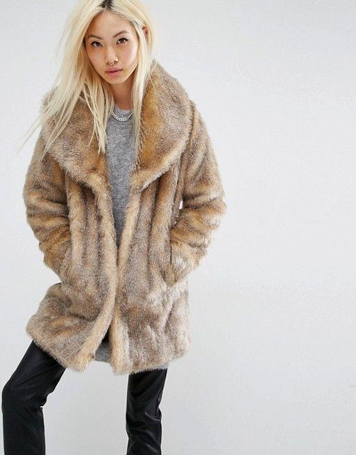 Unreal Fur Manteau jVRj87imsY