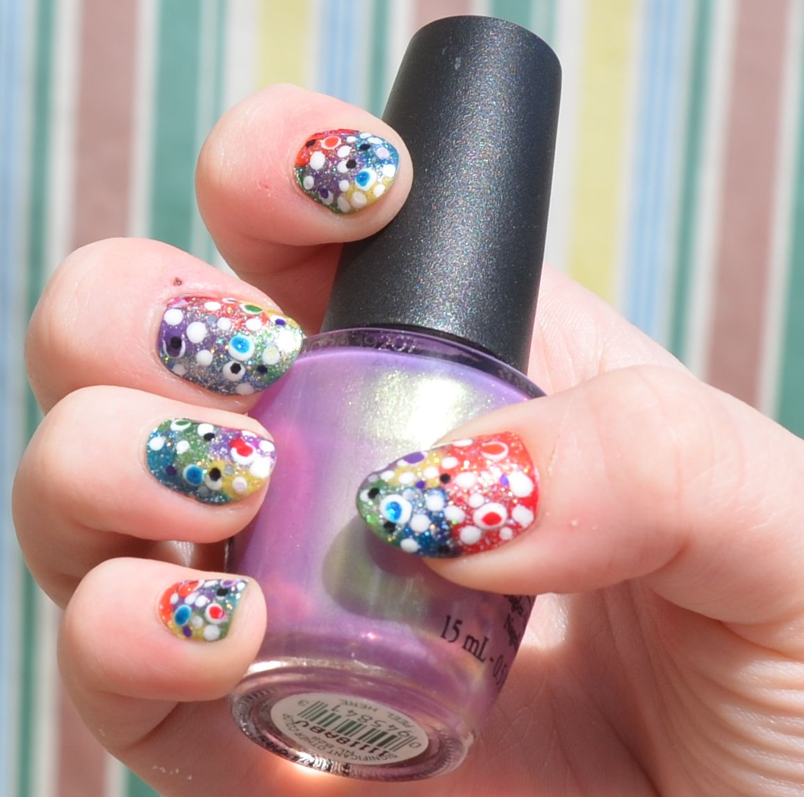 Hodgepodge nail art=)