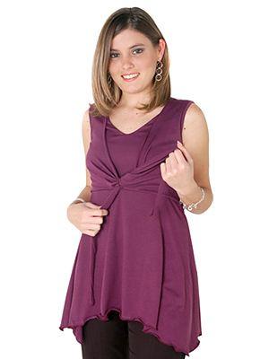 ba8d624a9 Blusas juveniles para embarazadas 5 Maternidad Elegante