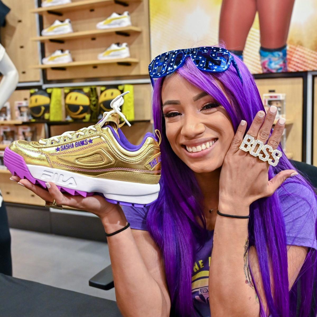 Sasha bank, Wwe sasha banks, Foot locker