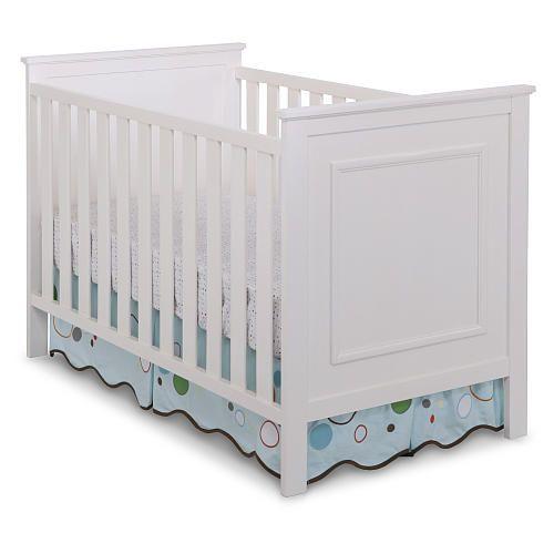 Delta Bennington 3 In 1 Classic Crib White Ambiance