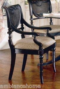 Details About Set Of 6 Vintage Drexel Furniture Cane Back Dining