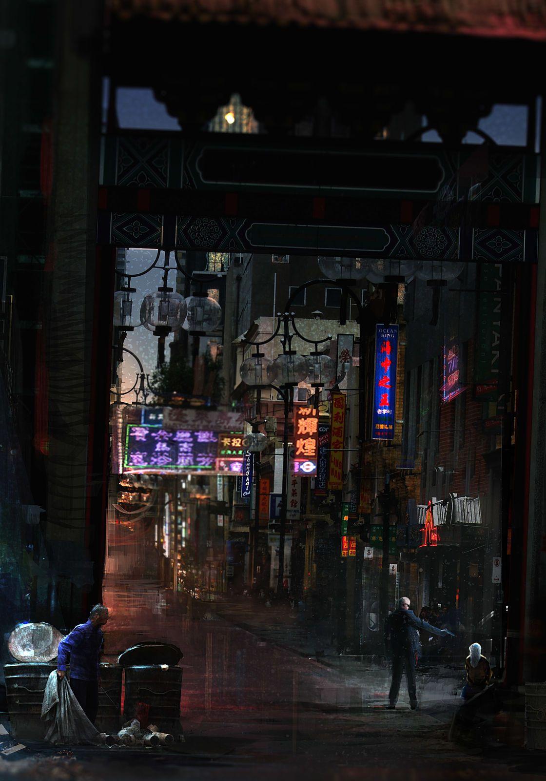 Cyberpunk Artworks - Inspiration Art In