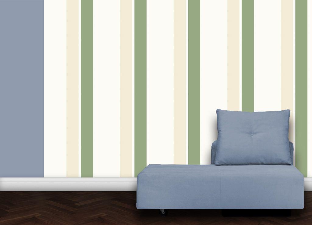 gr ne streifen angepasst an farrow and ball diese tap tapeten f r sch nes wohnen von der. Black Bedroom Furniture Sets. Home Design Ideas