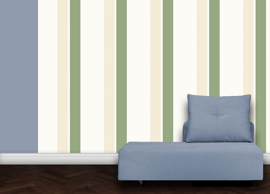 wandfarben streifen, grüne streifen angepasst an farrow and ball diese tapete ist, Design ideen