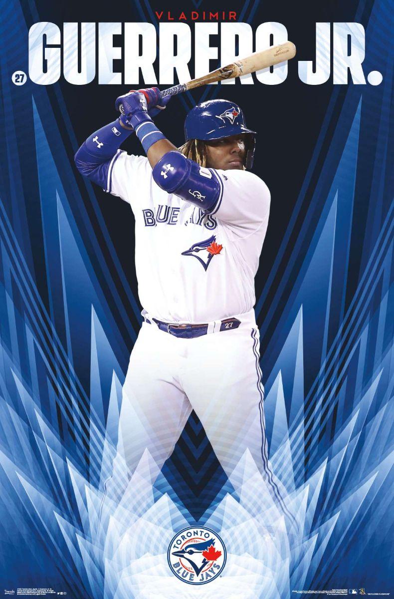 Mlb Toronto Blue Jays Vladimir Guerrero Jr In 2020 Blue Jays Baseball Blue Jays Toronto Blue Jays