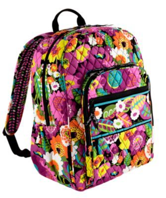 0585b8b51a15 Campus Backpack in Va Va Bloom! Vera Bradley Backpack