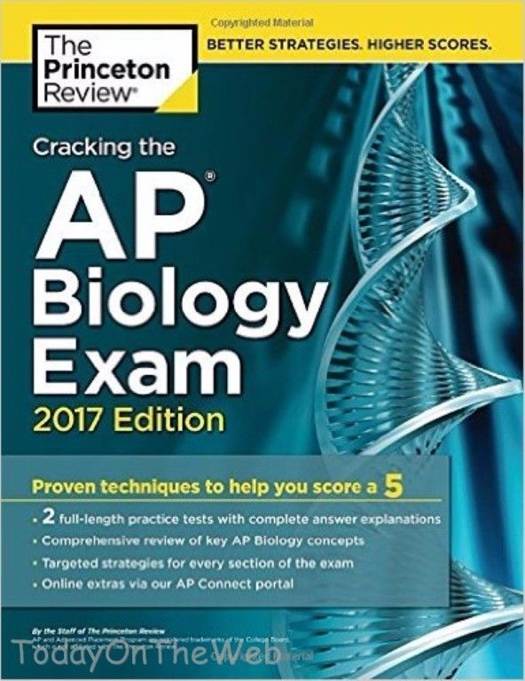 Cracking The AP Biology Exam 2017 Edition College Test
