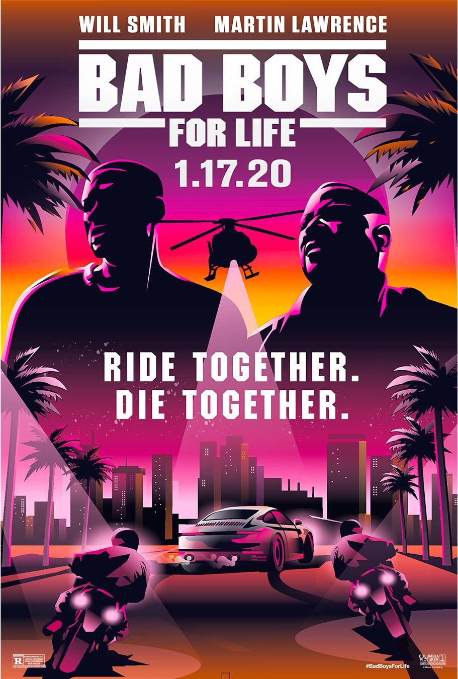 Bad Boys For Life Fan Art Bad Boys Movie Bad Boys Movie Poster Wall