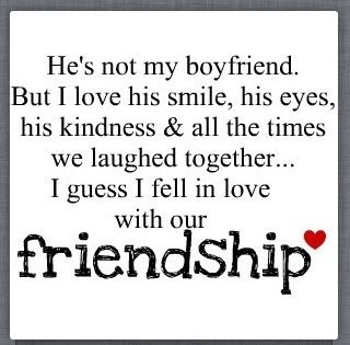 I Love My Best Guy Friend Our Relationship Is Perfect By