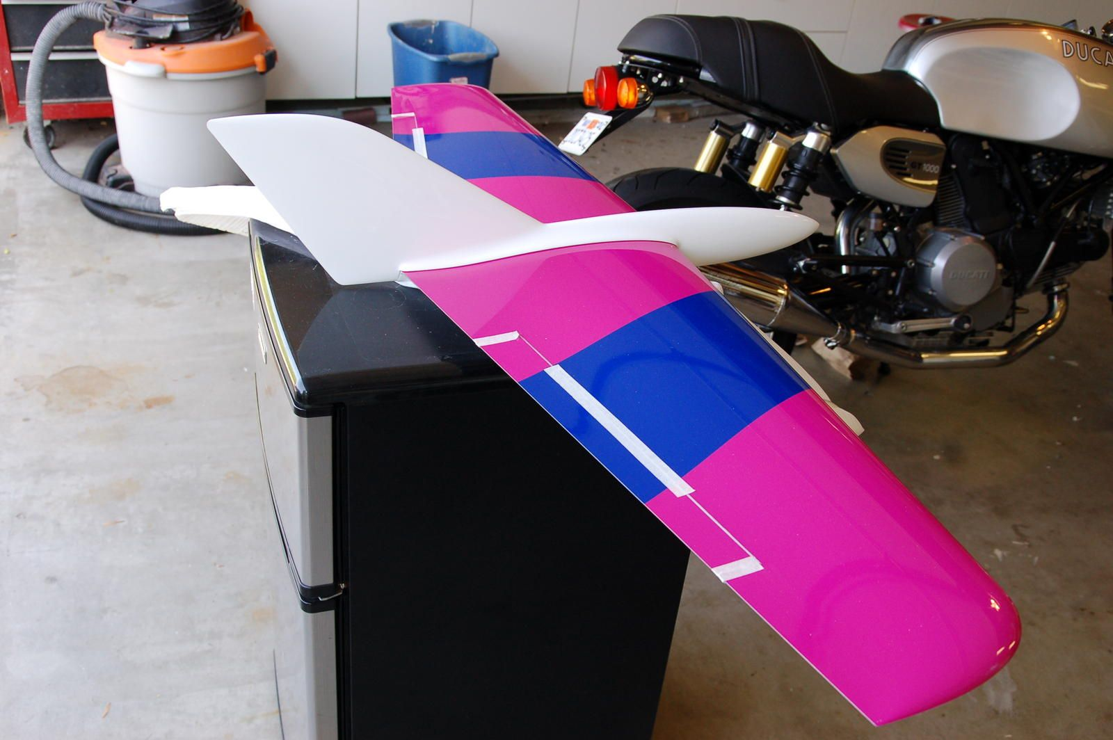 Wing tips on a plank - RC Groups |