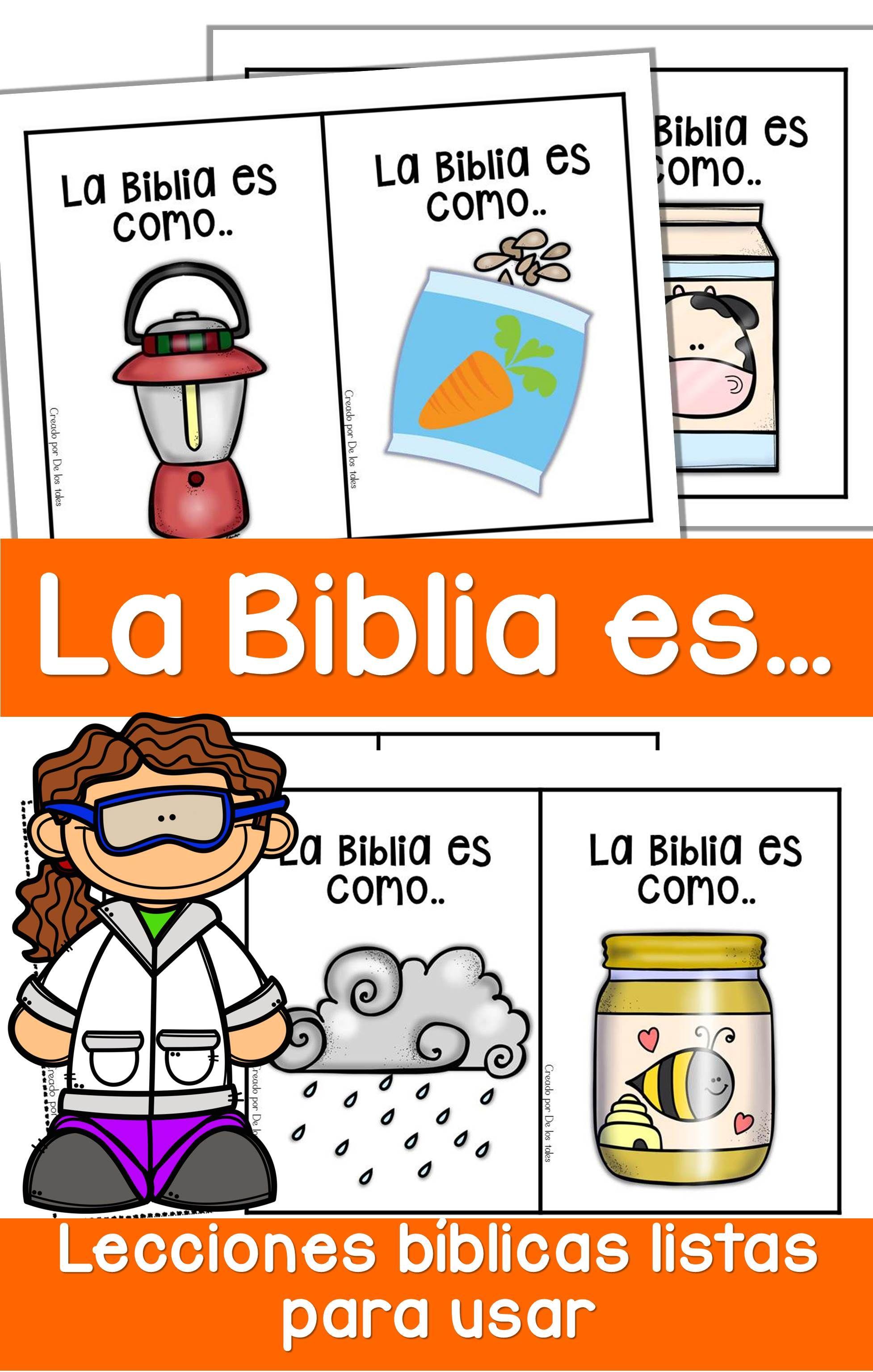 La Biblia Es Lecciones De Biblia Para Preescolar Lecciones Biblicas Para Ninos 10 Mandamientos Para Ninos