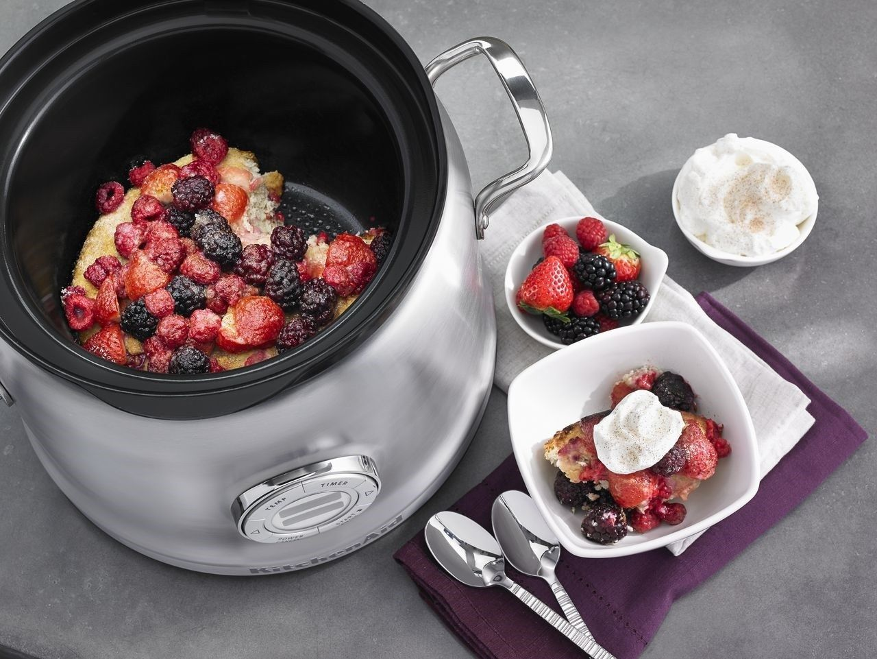 Kitchenaid 4qt multicooker stainless steel