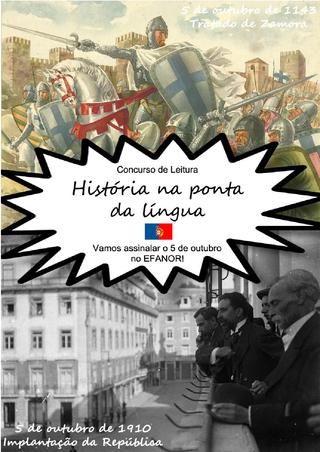 História na ponta da lingua