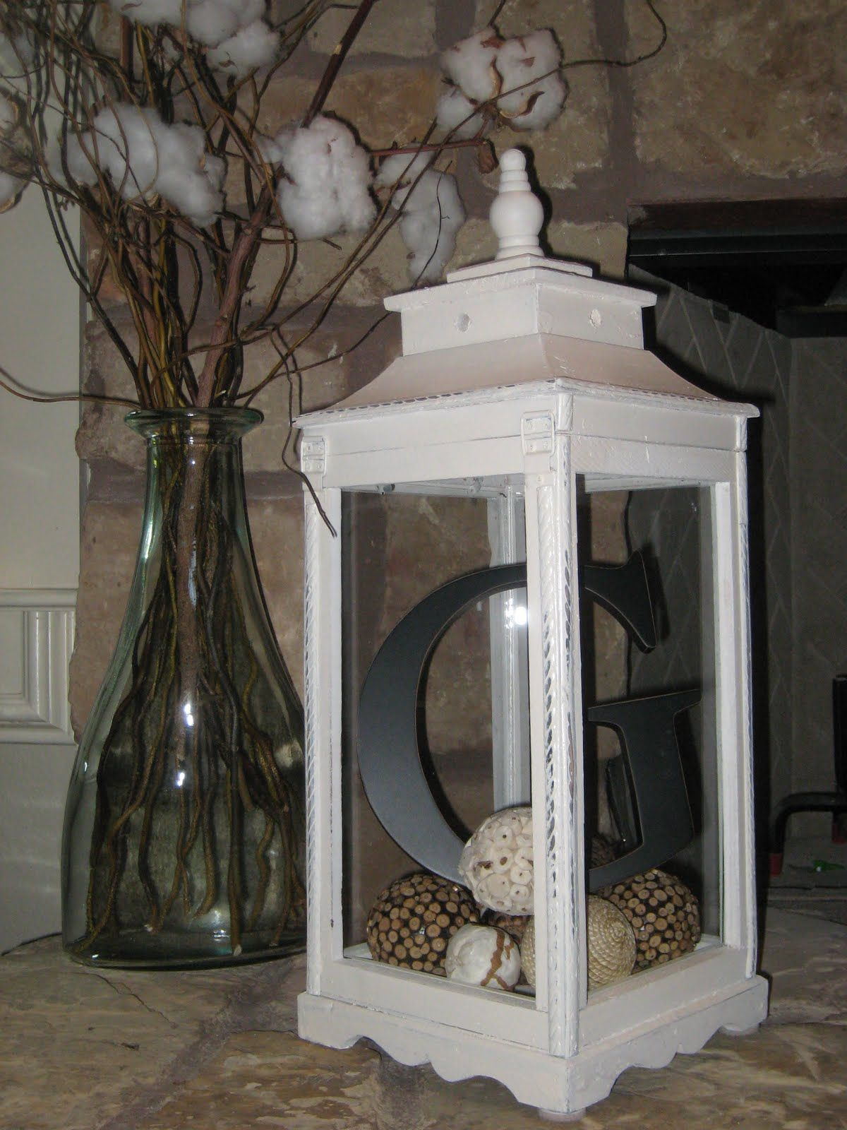 Love these lantern things but have not known what to so with one, I love this!