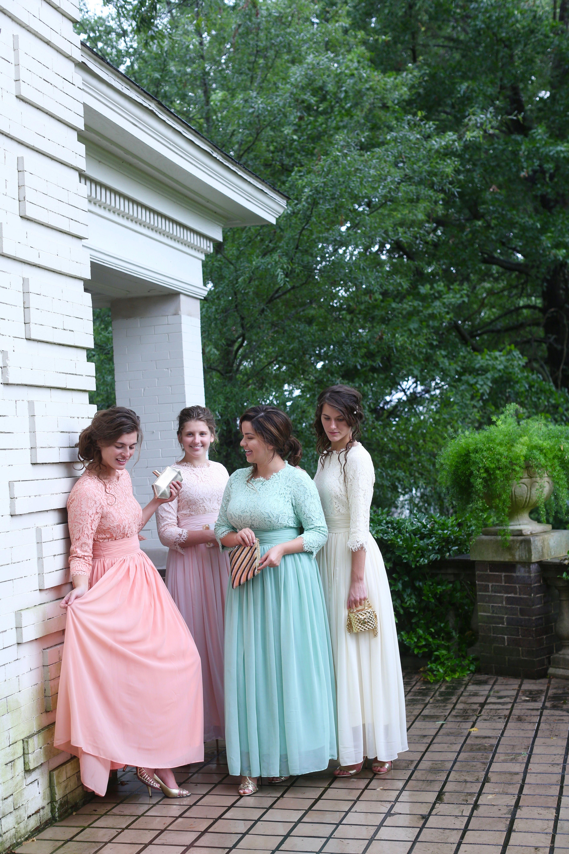 Exquisite English Manor Dress (13 colors) | Lace bridesmaids ...