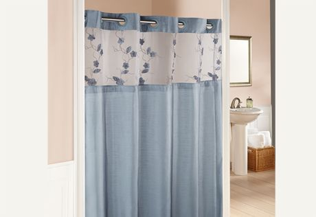 Superieur Sure Fit Slipcovers Hookless® Serena Shower Curtains   71 Inch X 74 Inch