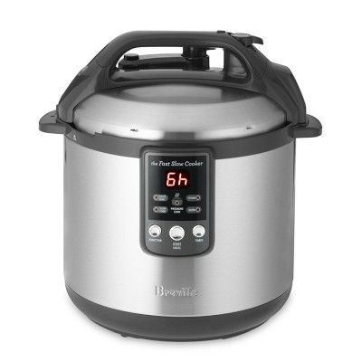 Breville Fast Slow Cooker Williamssonoma 179 Pressure Cooker And Slow Cooker Combo Slow Cooker Pressure Cooker Fast Cooker