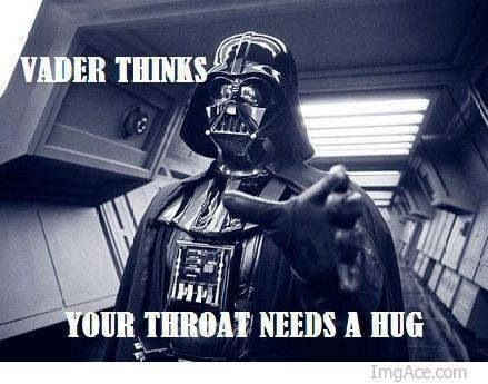 Your throat needs a hug