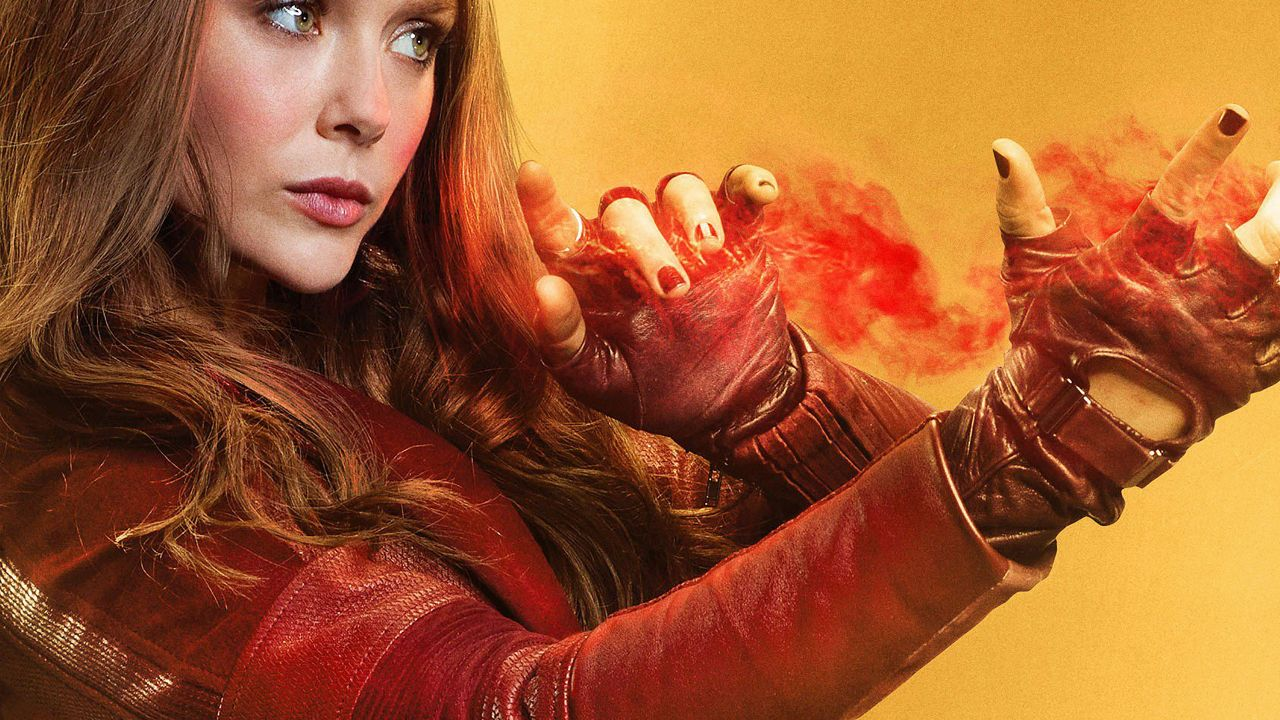 Hd Wallpaper Scarlet Witch Wanda Maximoff Elizabeth Olsen Marvel Comics Elizabeth Olsen Scarlet Witch Wallpaper
