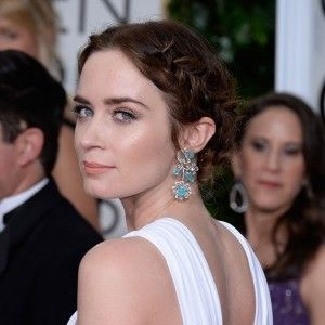 Emily Blunt's beauty look steals the show