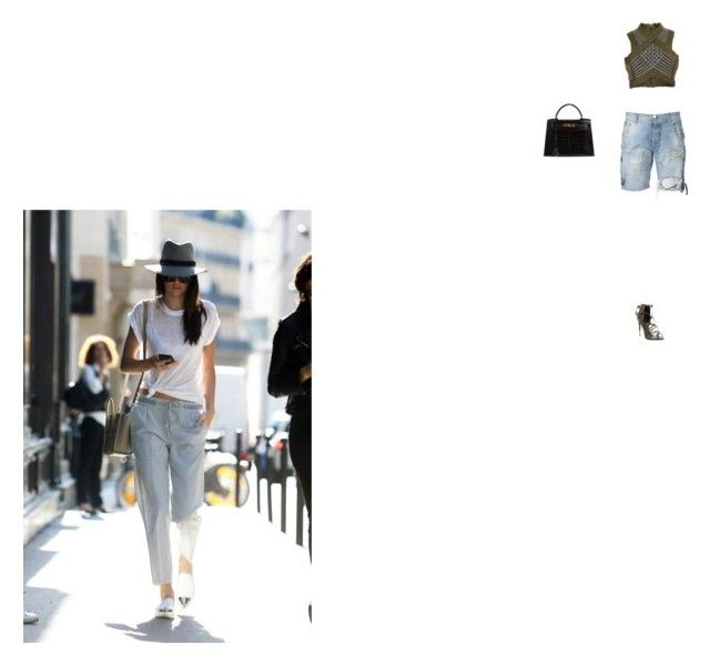 """""""no paparazzi"""" by getitgucci ❤ liked on Polyvore featuring Faith Connexion, Balmain, Tom Ford and Hermès"""