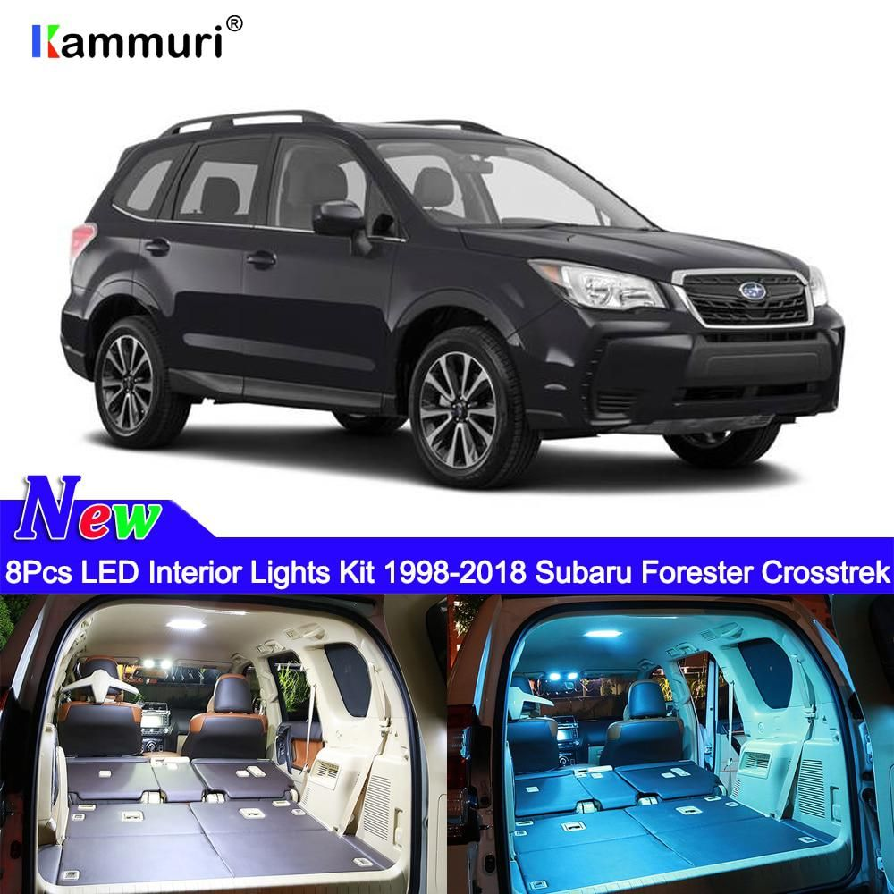 Kammuri 9x Error Free White Led Car Interior Light Package Kit For Us 10 47 Car Interior Subaru Forester Car