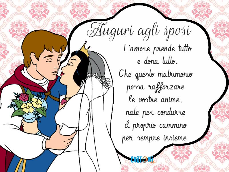 Cartoni Animati Auguri Agli Sposi L Amore Prende Tutto E Dona Tutto Che Questo Matrimonio Possa Rafforzare Le Vostre Anime Matrimonio Spose Anniversario