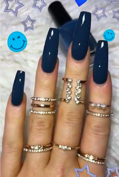 80 Prettiest Colorful Coffin Nails for the Beginning of 2020 - The First-Hand Fashion News for Females