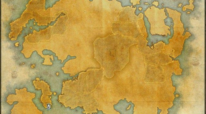 The maps of the Elder Scrolls Online - Tamriel   Elder Scrolls ...